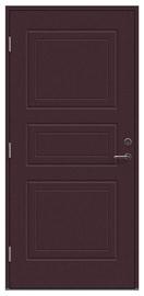 Lauko durys Viljandi Dulcia, rudos, kairinės, 208.8x89 cm