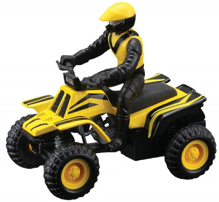 Maisto ATV's Fresh Metal Pull-Back Motor Die-Cast Vehicle