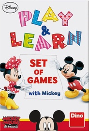 Galda spēle Dino Disney Mickey Mouse And Friends Play And Learn