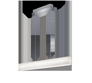 Kabantis šviestuvas Trio Lugano 320910101, 18W, LED integruota