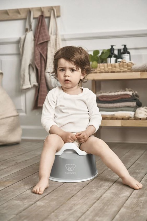 Ночной горшок BabyBjorn Smart Potty Grey/White 051225