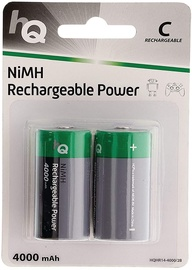HQ Rechargeable Battery NiMH C x 2