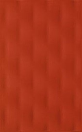 Kwadro Ceramika Veo Wall Tile 25x40cm Red Structure