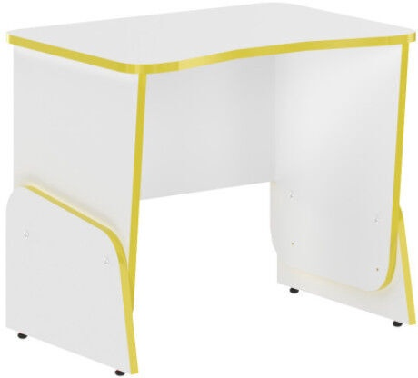 Skyland STG 7050 Gaming Table White/Yellow