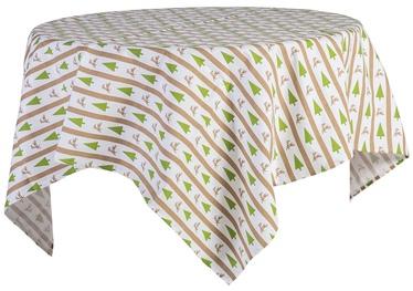 Home4you Tablecloth Xmas Story 150x150cm Pine