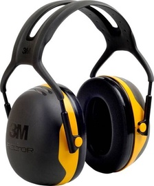 3M Peltor X2A Protective Ear Caps Black/Yellow