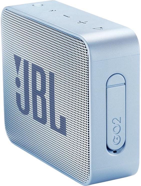Belaidė kolonėlė JBL GO 2 Bluetooth Speaker Icecube Cyan