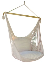 Home4you Lazy Handmade Hanging Chair White