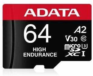 ADATA High Endurance microSDXC 64GB UHS-I U3
