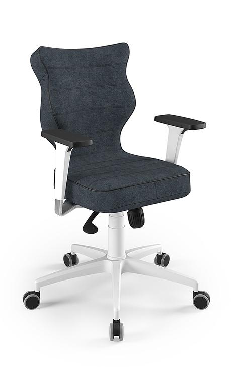 Biroja krēsls Entelo Perto White AT04 Navy Blue