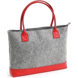 "Platinet Felt Collection Notebook Bag 15.6"" Red"