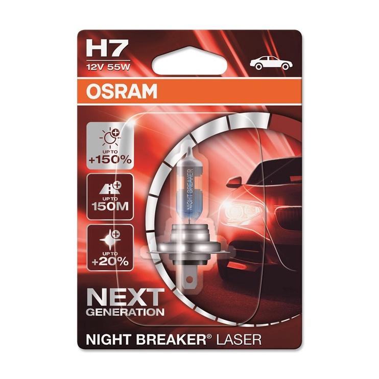 Osram Night Breaker Laser H7 55W 12V