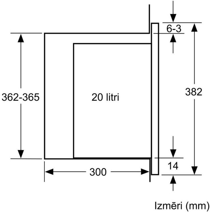 Bosch Serie 6 BFL524MW0