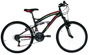 Henry Hogan MTB Full Susp 26'' Black/Red