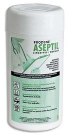 Dezinfekcinės servetėlės Prodene Aseptil, 100 vnt.