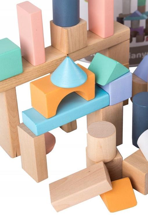 EcoToys Wooden Blocks 100pcs 2505