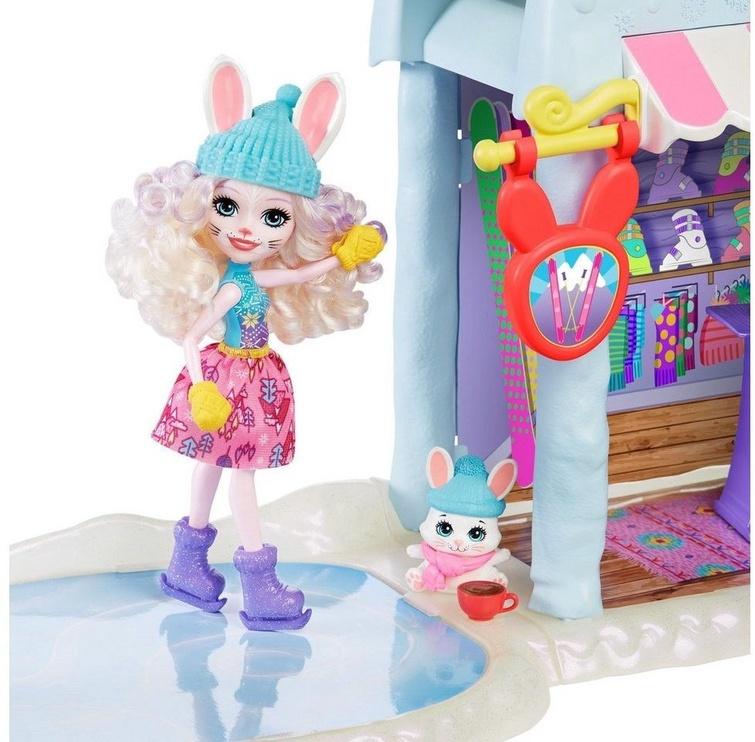 Leļļu māja Mattel Enchantimals Hoppin Ski Chalet GJX50