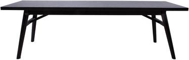 Suoliukas Home4you Odense 18126, juodas, 150x40x45 cm
