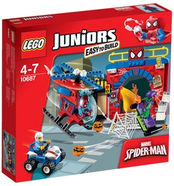Конструктор LEGO Juniors Spider Man Hideout 10687, 137 шт.