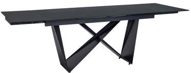 Signal Meble Table Cavalli I Black Matte 160x90cm