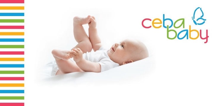 Ceba Baby Caro Multi Physio Flexi Pillow 190x32cm Navy