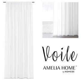 Dienas aizkari AmeliaHome Voile, balta, 2700 mm x 1400 mm