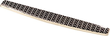 Fellowes Photo Gel Keyboard Wrist Support Chevron
