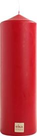 Eika Pillar Candle 21x7cm Red