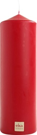 Eika Pillar Candle 21x7cm Red