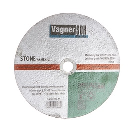 Lihvketas Vagner SDH 125x6x22,23 mm, kivi