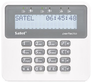 Satel PRF-LCD-WRL LCD Keypad for Perfecta Control Panels