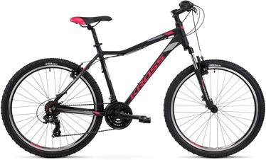 Велосипед Kross Lea 1.0 Black Raspberry Graphite Matte, 26″