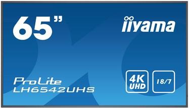 "Monitorius Iiyama LH6542UHS, 65"", 8 ms"