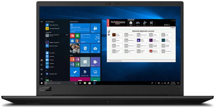"Nešiojamas kompiuteris Lenovo ThinkPad P1 Gen 3 Black 20TH004HMH PL Intel® Core™ i7, 16GB/512GB, 15.6"""