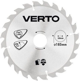 Verto Circular Saw Blade 185x30mm 36T