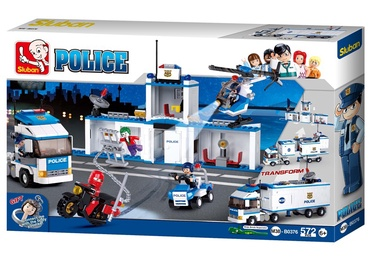 Sluban City Police Truck 572pcs M38-B0376