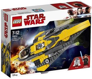 Конструктор LEGO Star Wars Anakins Jedi Starfighter 75214, 247 шт.