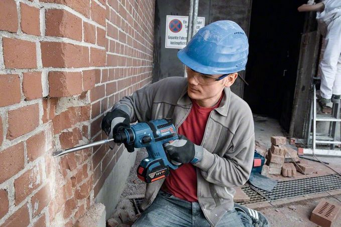 Bosch GBH 18 V-EC Solo Rotary Hammer without Battery
