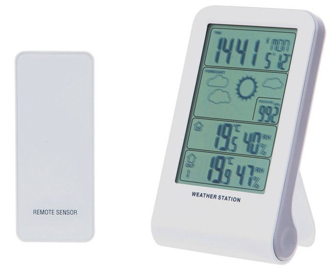 Tarmo Thermometer With Barometer White