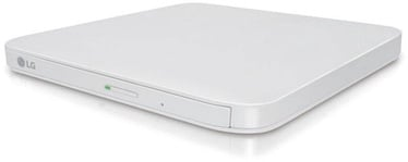 LG GP95NW70 Ultra Slim Portable DVD Writer White