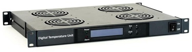 "Digitalbox Start.Lan 1U Ventilation Panel With LCD For 19"" Rack"