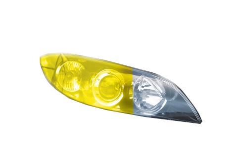 Наклейки SN Car Lamp Sticker Yellow