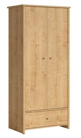 Black Red White Porto Wardrobe Burlington Oak