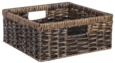 Home4you Basket Rubys 1 30x30x13cm Dark Brown
