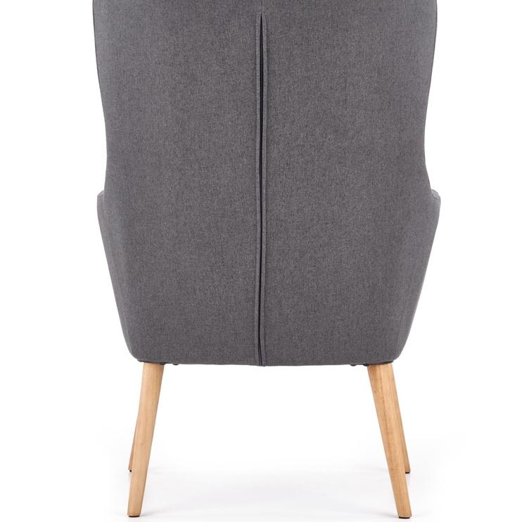 Fotelis Halmar Chester Dark Grey, 85x67x114 cm
