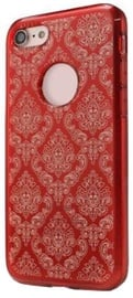 Mocco Ornament Back Case For Samsung Galaxy A3 A320 Red