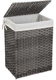 Ящик для белья Songmics Clothes Basket Grey/White 46x33x60cm