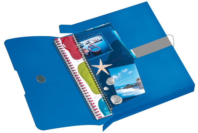 Herlitz Document Box Easy Orga A4 Opaque Blue 11206125