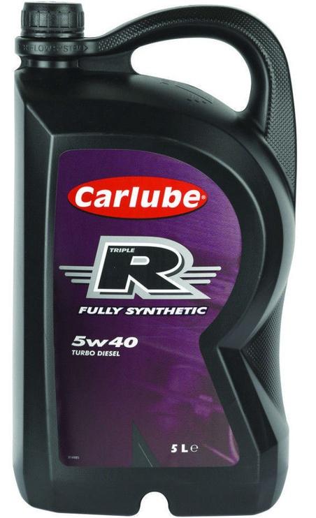 Carlube Triple R 5W/40 PD Fully-Synthetic Oil 5l