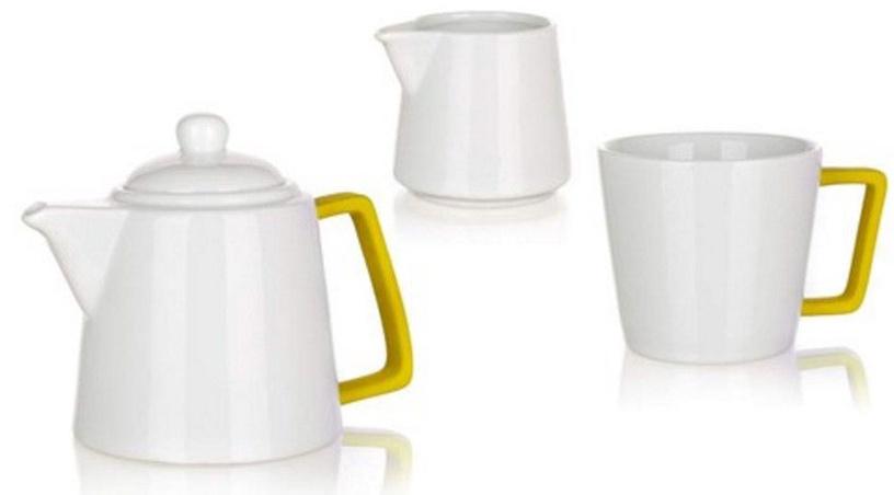 Banquet Color Plus Tea Set 3pcs Yellow